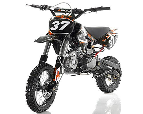 AGB 37 125cc Big Size Dirt Bike