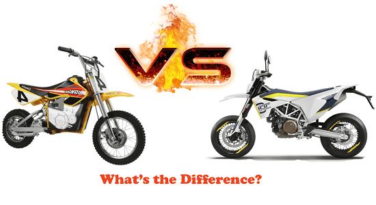 Kid's Dirt Bikes vs. Regular Dirt Bikes, What's the Difference