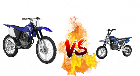 Electric Dirt Bikes vs Regular Dirt Bikes