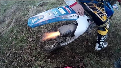 Is backfire bad for your dirt bike?