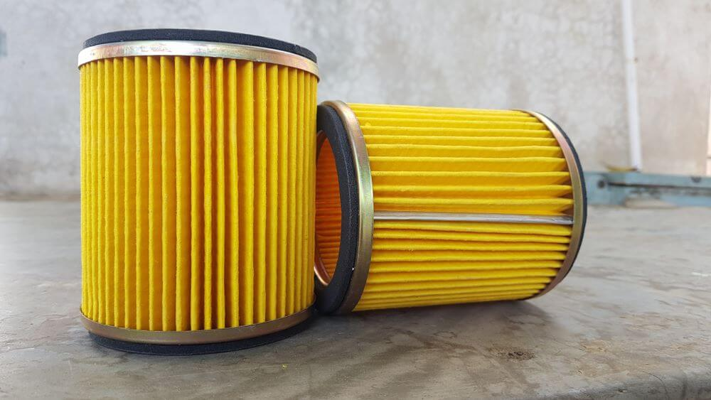 clean dirt bike air filter